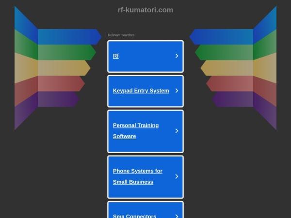 Screenshot of www.rf-kumatori.com