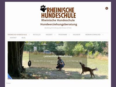 rheinische-hundeschule.de