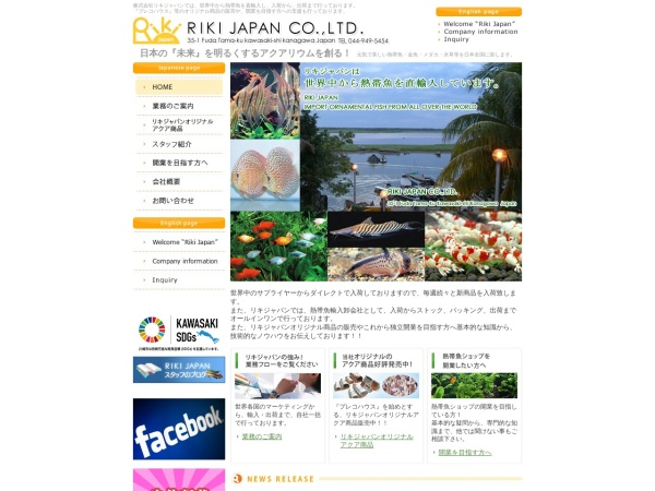 Screenshot of www.rikijapan.com