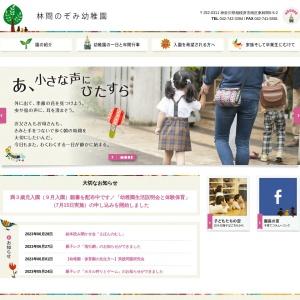 Screenshot of www.rinkan-nozomi.ed.jp
