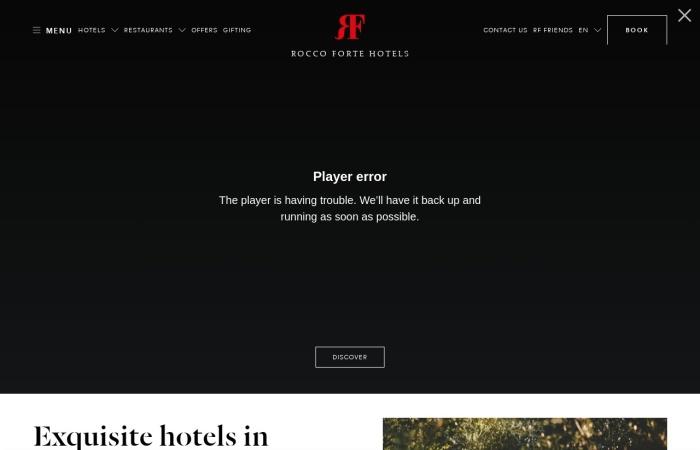 Screenshot of www.roccofortehotels.com