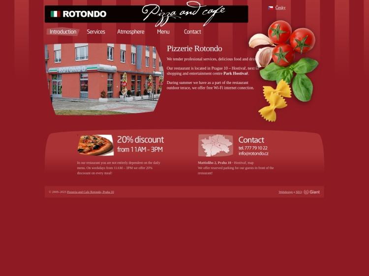 Rotondo Pizzeria and Cafe