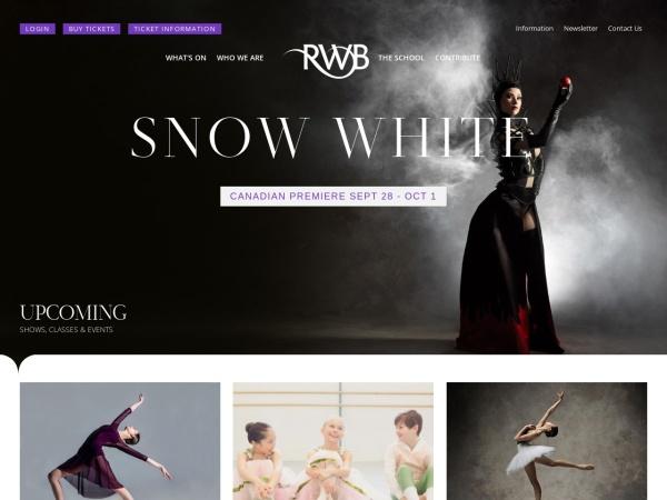 Screenshot of www.rwb.org