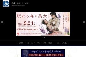 Screenshot of www.sadamatsu-hamada.com