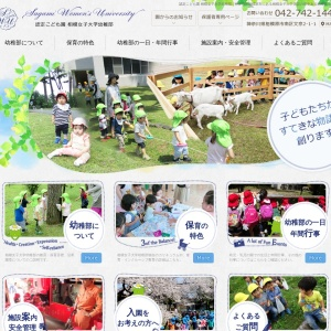 Screenshot of www.sagami-wu-kg.jp