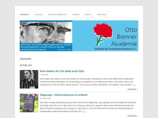 Screenshot von www.sakobrenner.de