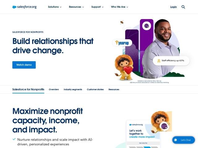http://www.salesforce.org/nonprofit/