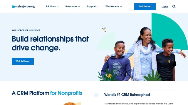 Screenshot of www.salesforce.org