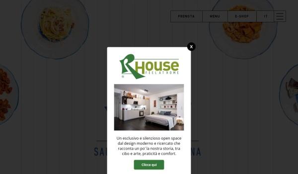 Screenshot of www.salumeriaroscioli.com