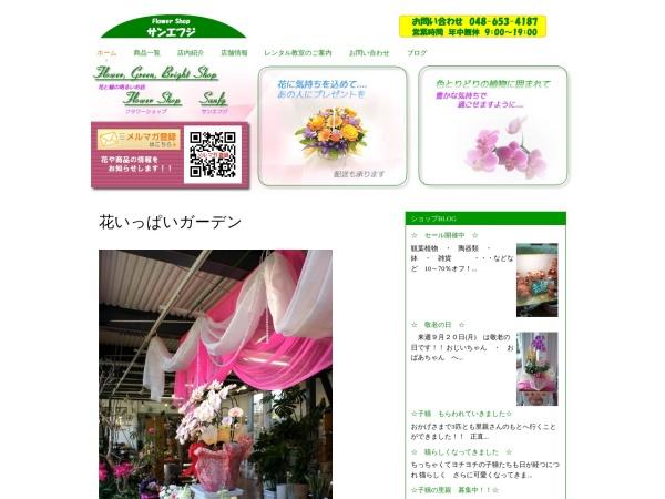 Screenshot of www.sanfg.co.jp