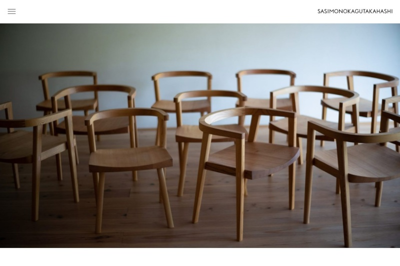 Screenshot of www.sasimonokagu-takahashi.com