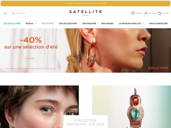 Screenshot of www.satelliteparis.com