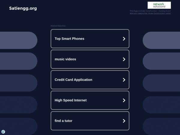 Screenshot of www.satiengg.org
