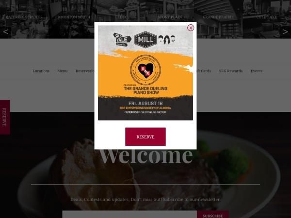 http://www.sawmillrestaurant.com