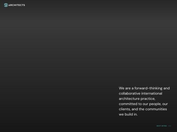 Screenshot of www.sb-architects.com