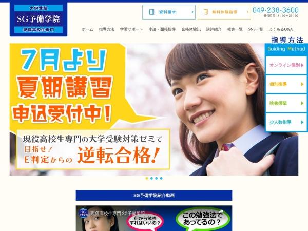 Screenshot of www.sg-school.com