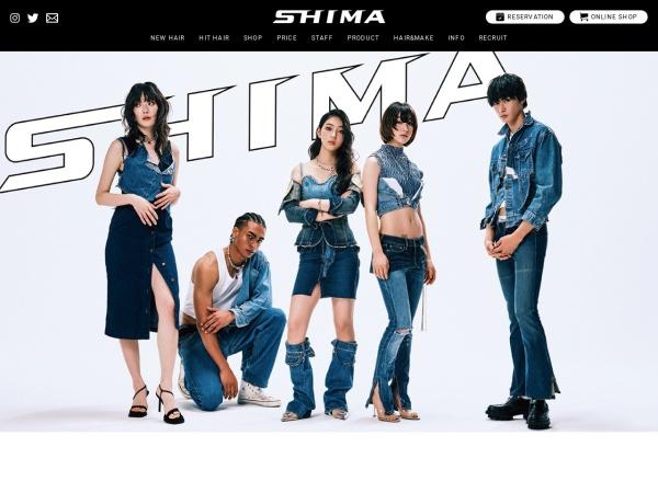 Screenshot of www.shima-hair.com