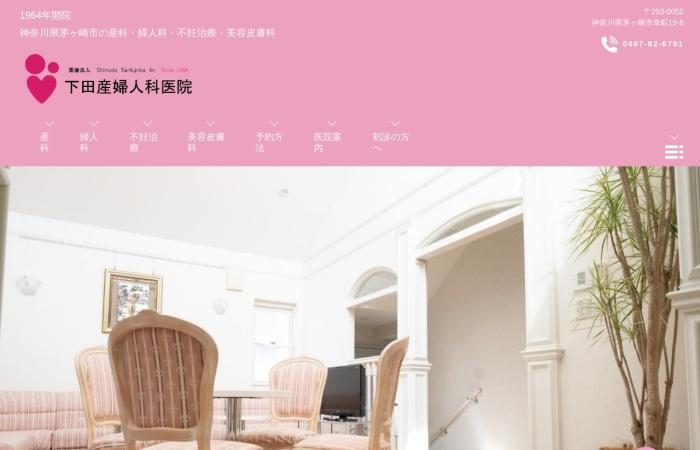 Screenshot of www.shimoda-sanfujinka.com