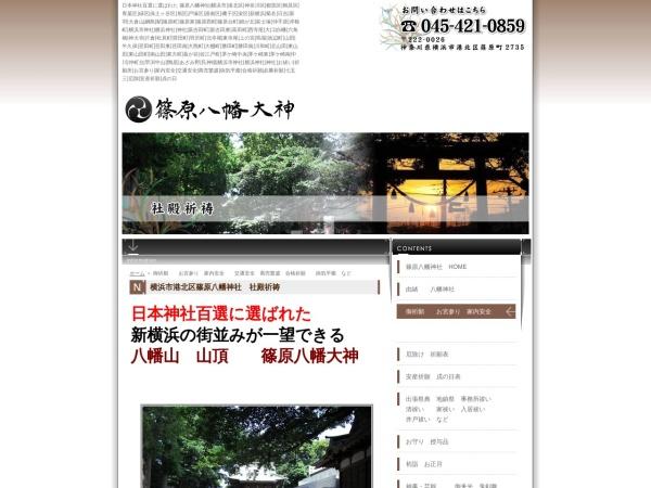 Screenshot of www.shinohara-80000.com