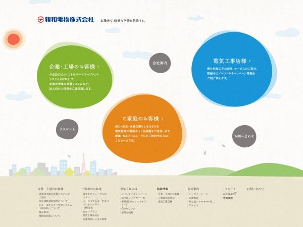 Screenshot of www.shinwa-d.co.jp