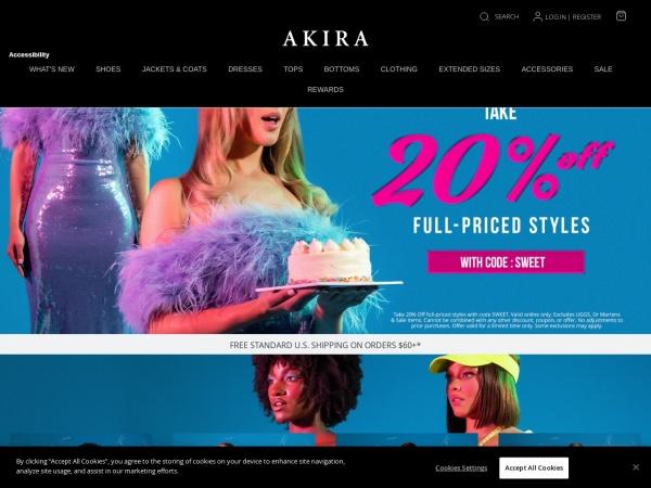 http://www.shopakira.com/