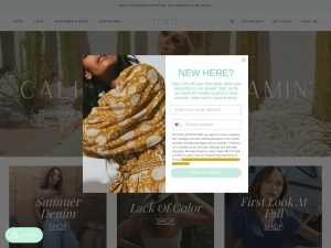 Mint Clothing Boutiques Coupons