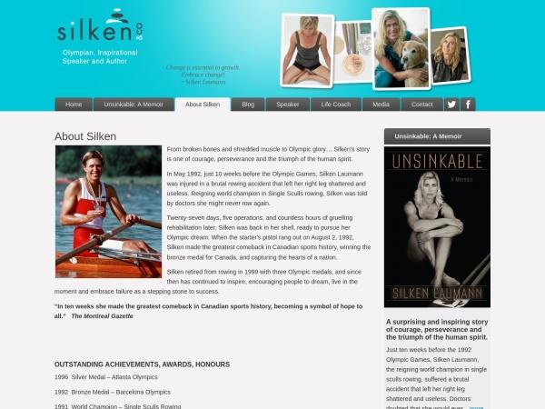 Screenshot of www.silkenlaumann.com
