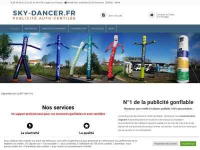 Entrez dans la publicité dynamique avec Skydancer