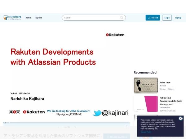 http://www.slideshare.net/rakutentech/ss-23839614