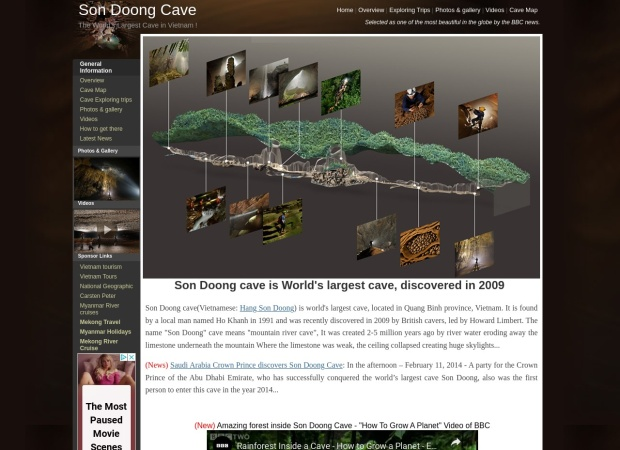 http://www.sondoongcave.org/