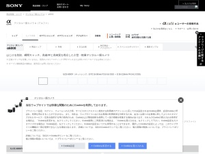 http://www.sony.jp/ichigan/products/ILCE-6000/