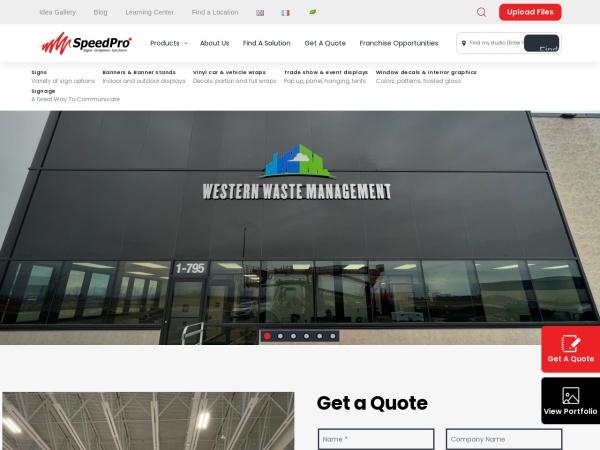 http://www.speedpro.ca