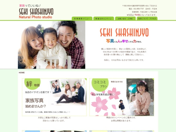 Screenshot of www.st-seki.com