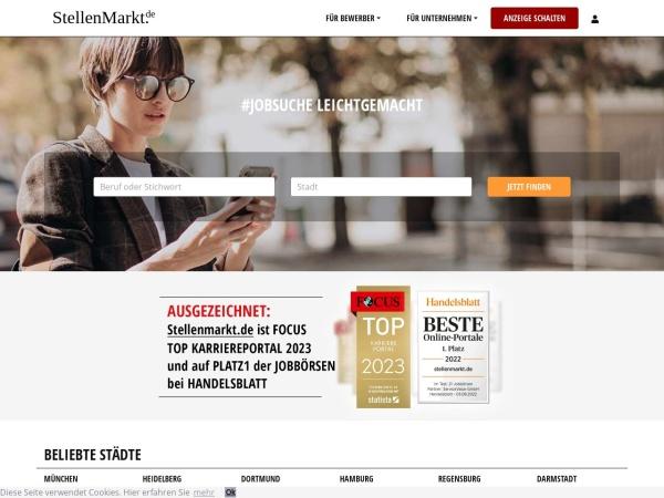 Suchmaschine StellenMarkt.de