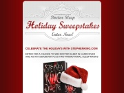 http://www.stephenking.com/promo/holiday_sweepstakes/