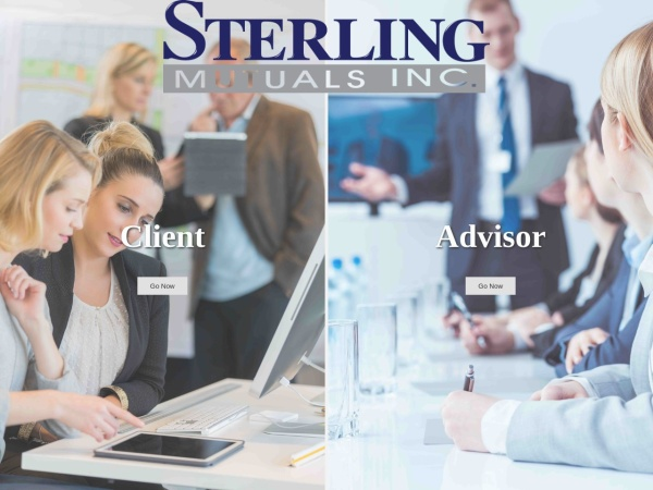 Screenshot of www.sterlingmutuals.com
