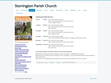 http://www.storringtonparishchurch.org.uk/services