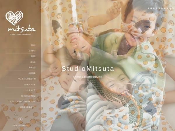 Screenshot of www.studio-mitsuta.co.jp