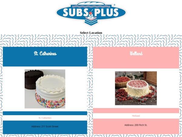 Screenshot of www.subsplus.ca