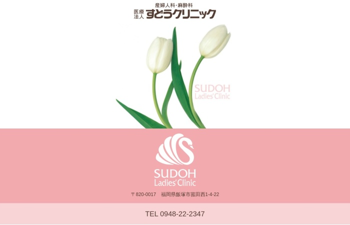 Screenshot of www.sudoclinic.or.jp