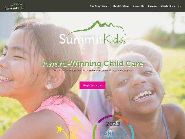 Screenshot of www.summitkids.ca