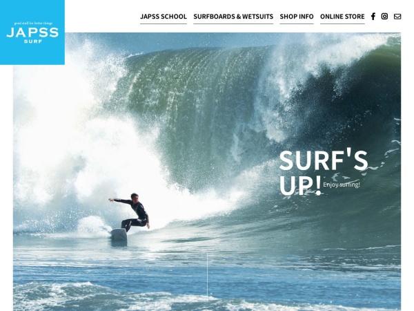 Screenshot of www.surf-m.com