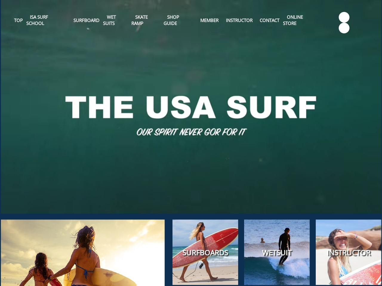 THE・USA・SURF