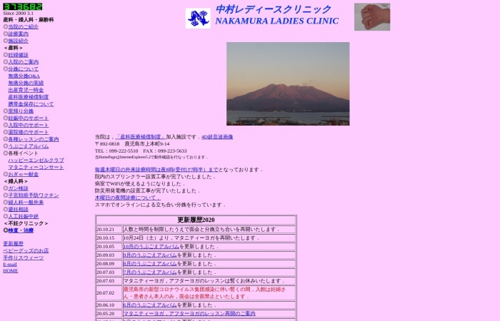 Screenshot of www.synapse.ne.jp