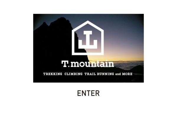 Screenshot of www.t-mountain.com