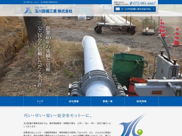 Screenshot of www.tamagawa.co.jp