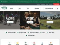 Screenshot of www.tampabaydowns.com
