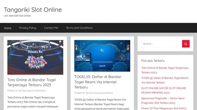 Screenshot of www.tangoriki.com