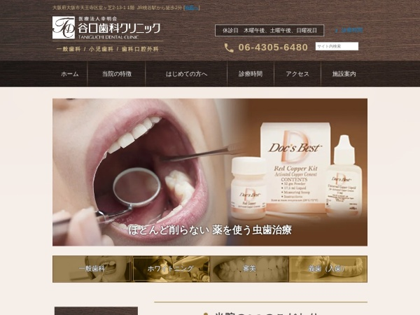 Screenshot of www.taniguchi-dental.jp