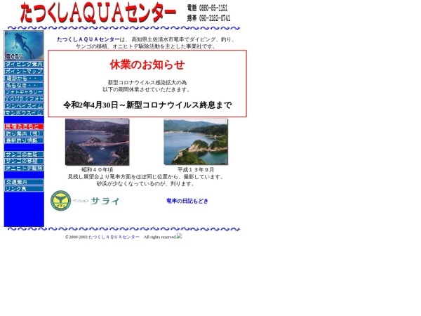 Screenshot of www.tatukusi.com